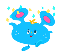 Colorful Monsters Mogu sticker #136657