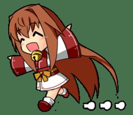 Sisaka-chan sticker #136802