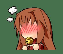 Sisaka-chan sticker #136806