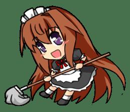 Sisaka-chan sticker #136816