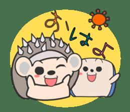 ohuton Hedgehog sticker #137900
