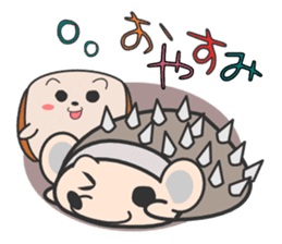 ohuton Hedgehog sticker #137902
