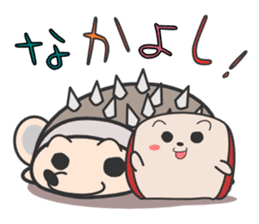 ohuton Hedgehog sticker #137904