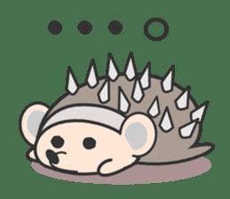 ohuton Hedgehog sticker #137910