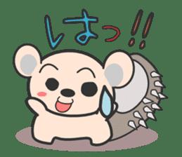 ohuton Hedgehog sticker #137912