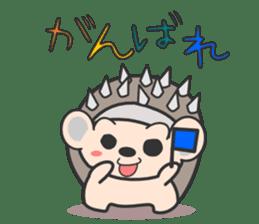ohuton Hedgehog sticker #137913