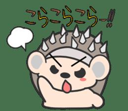 ohuton Hedgehog sticker #137914