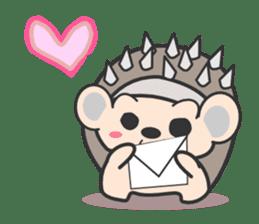 ohuton Hedgehog sticker #137915