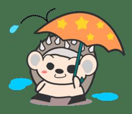 ohuton Hedgehog sticker #137917