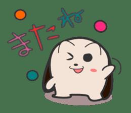 ohuton Hedgehog sticker #137921