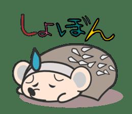 ohuton Hedgehog sticker #137927