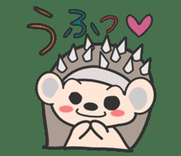 ohuton Hedgehog sticker #137931
