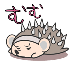 ohuton Hedgehog sticker #137933