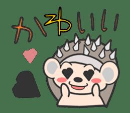 ohuton Hedgehog sticker #137934