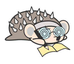 ohuton Hedgehog sticker #137937