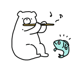 White Bear sticker #138010