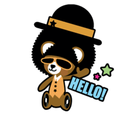 Ditty Bear sticker #138836