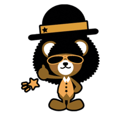 Ditty Bear sticker #138837