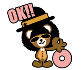 Ditty Bear sticker #138840