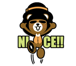 Ditty Bear sticker #138844