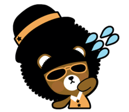 Ditty Bear sticker #138846