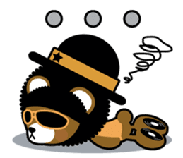 Ditty Bear sticker #138848