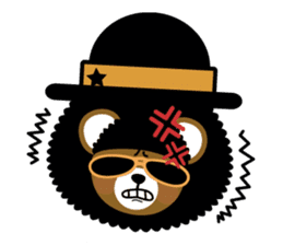 Ditty Bear sticker #138858
