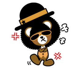 Ditty Bear sticker #138859