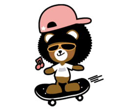 Ditty Bear sticker #138863