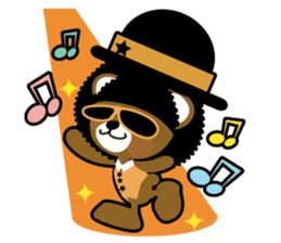 Ditty Bear sticker #138867