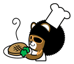 Ditty Bear sticker #138869