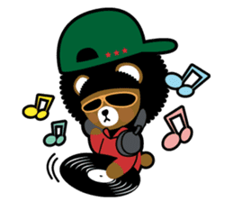 Ditty Bear sticker #138873