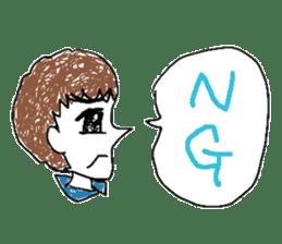 girly graffiti sticker #139006