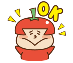 Fairy Julie of a tomato sticker #139558