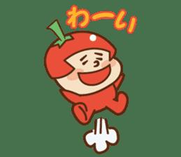 Fairy Julie of a tomato sticker #139560