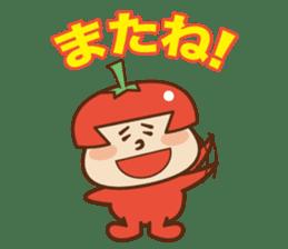Fairy Julie of a tomato sticker #139564