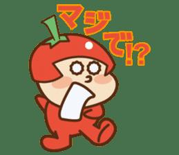 Fairy Julie of a tomato sticker #139566
