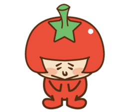 Fairy Julie of a tomato sticker #139574