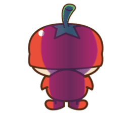 Fairy Julie of a tomato sticker #139589