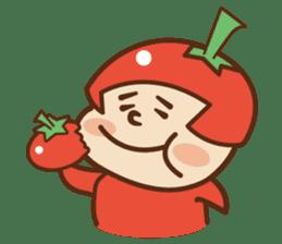 Fairy Julie of a tomato sticker #139591