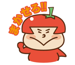 Fairy Julie of a tomato sticker #139592