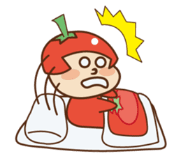 Fairy Julie of a tomato sticker #139594
