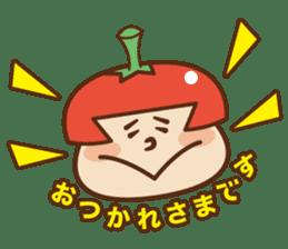 Fairy Julie of a tomato sticker #139595