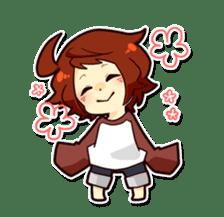 Suzume-kun Stamp sticker #140118