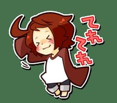 Suzume-kun Stamp sticker #140140
