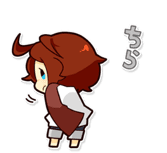 Suzume-kun Stamp sticker #140150