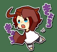 Suzume-kun Stamp sticker #140151