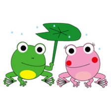 Pinky the Frog sticker #140158