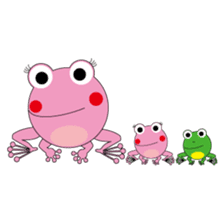 Pinky the Frog sticker #140162