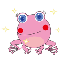 Pinky the Frog sticker #140175